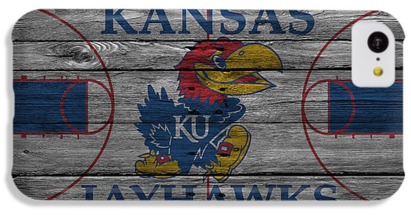 Kansas Jayhawks IPhone 5c Case by Joe Hamilton