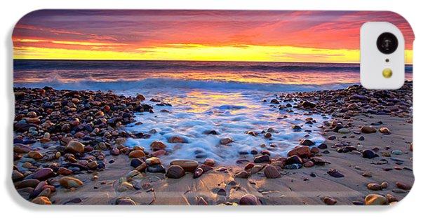 Beach iPhone 5c Case - Karrara Sunset by Bill  Robinson