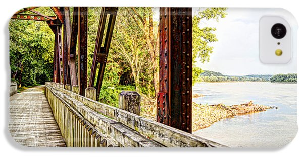 Cricket iPhone 5c Case - Katy Trail Near Coopers Landing by Cricket Hackmann
