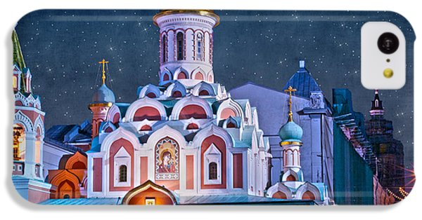 Kazan Cathedral. Red Square. Moscow Russia IPhone 5c Case by Juli Scalzi