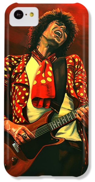 Keith Richards Painting IPhone 5c Case