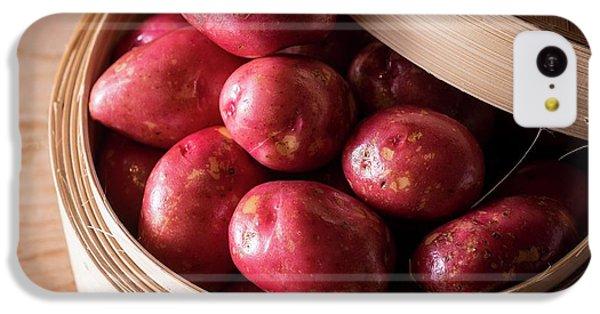 King Edward Potatoes IPhone 5c Case by Aberration Films Ltd