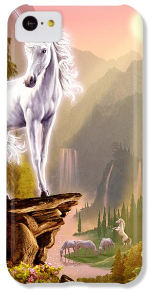 King Of The Valley IPhone 5c Case by Garry Walton