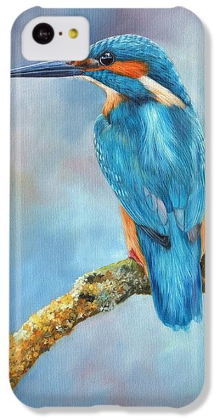 Kingfisher IPhone 5c Case by David Stribbling