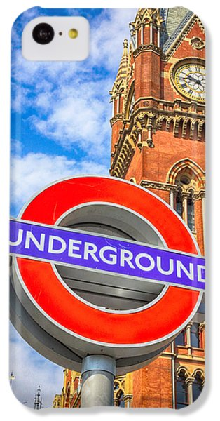 London Tube iPhone 5c Case - Kings Cross Underground by Stephen Stookey