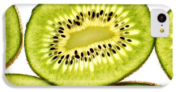 Kiwi Fruit IIi IPhone 5c Case by Paul Ge