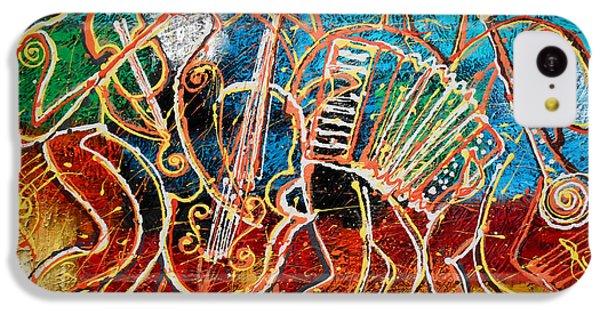 Saxophone iPhone 5c Case - Klezmer Music Band by Leon Zernitsky