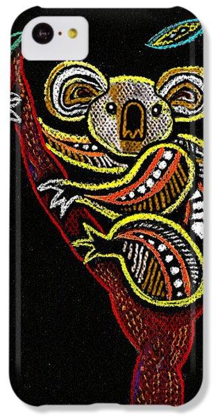 Koala IPhone 5c Case by Leon Zernitsky