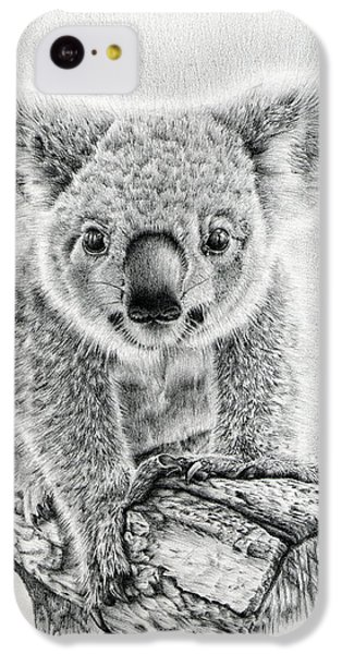 Koala Oxley Twinkles IPhone 5c Case by Remrov