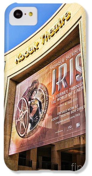 Kodak Theatre IPhone 5c Case by Mariola Bitner