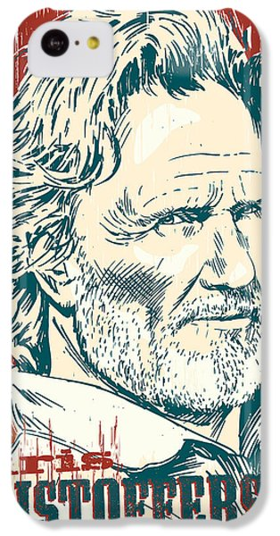 Kris Kristofferson Pop Art IPhone 5c Case