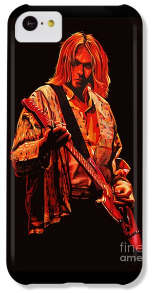 Kurt Cobain Painting IPhone 5c Case by Paul Meijering