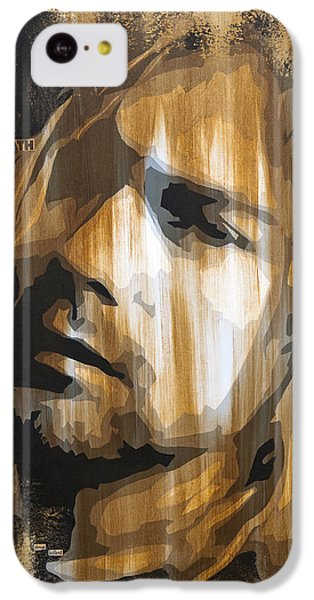 Kurt Cobain Tormented  IPhone 5c Case by Brad Jensen
