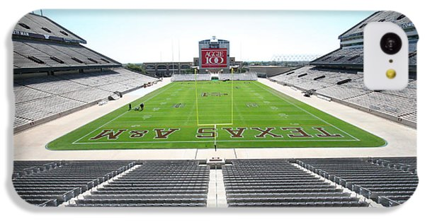 Kyle Field IPhone 5c Case by Georgia Fowler