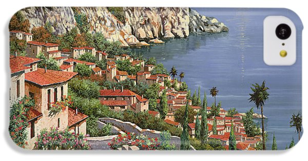Landscapes iPhone 5c Case - La Costa by Guido Borelli