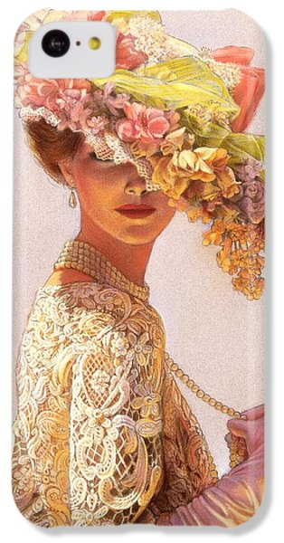 Valentines Day iPhone 5c Case - Lady Victoria Victorian Elegance by Sue Halstenberg