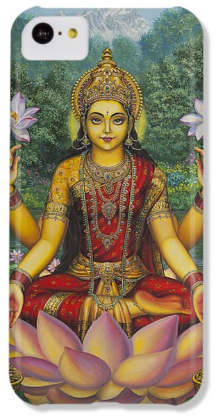 Swan iPhone 5c Case - Lakshmi by Vrindavan Das