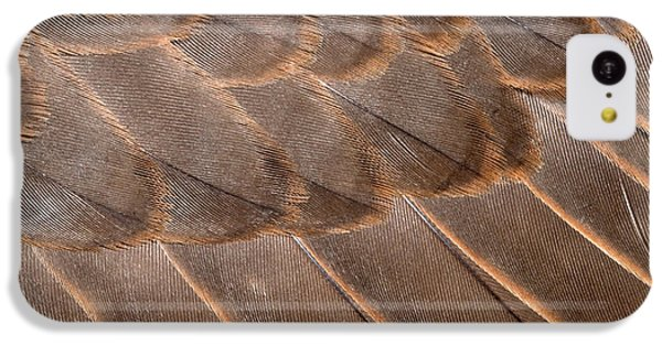 Lanner Falcon Wing Feathers Abstract IPhone 5c Case by Nigel Downer