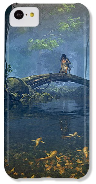 Lantern Bearer IPhone 5c Case by Cynthia Decker