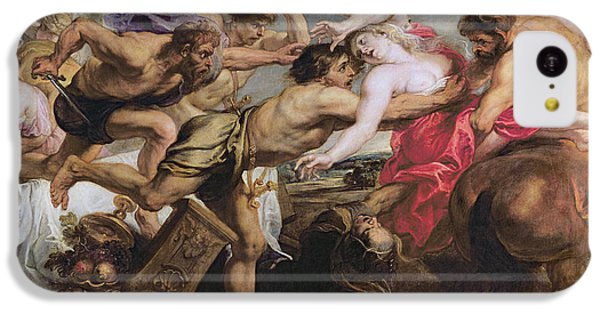 Lapiths And Centaurs Oil On Canvas IPhone 5c Case by Peter Paul Rubens