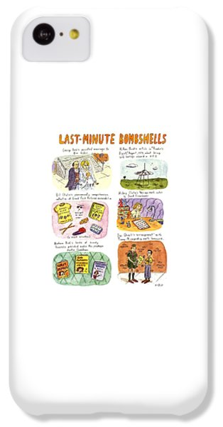 Last-minute Bombshells IPhone 5c Case by Roz Chast