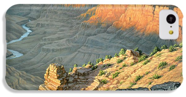 Desert iPhone 5c Case - Late Afternoon-desert View by Paul Krapf