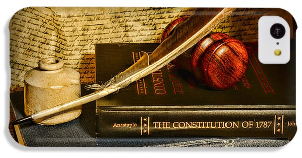 Doctor iPhone 5c Case - Lawyer - The Constitutional Lawyer by Paul Ward
