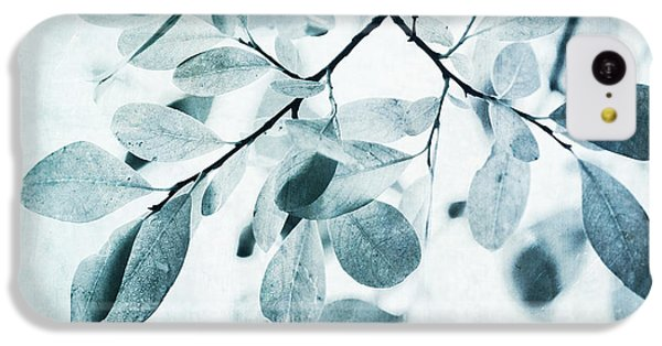 Leaves In Dusty Blue IPhone 5c Case