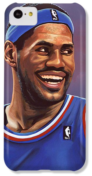 Lebron James iPhone 5c Case - Lebron James  by Paul Meijering