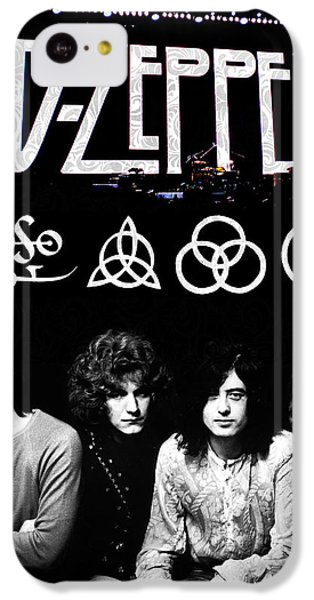 Drum iPhone 5c Case - Led Zeppelin by FHT Designs