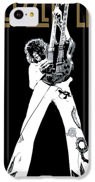 Led Zeppelin No.06 IPhone 5c Case by Caio Caldas