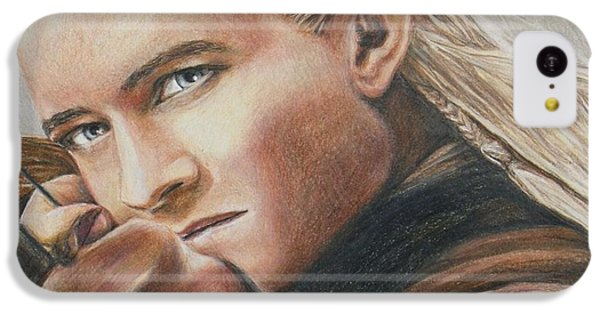 Legolas / Orlando Bloom IPhone 5c Case by Christine Jepsen