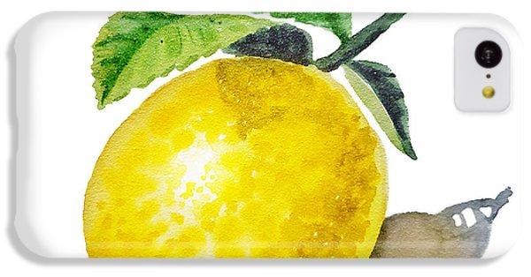 Artz Vitamins The Lemon IPhone 5c Case