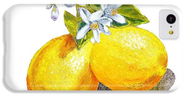 Lemons And Blossoms IPhone 5c Case