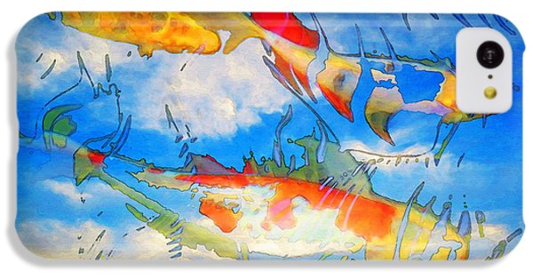 Life Is But A Dream - Koi Fish Art IPhone 5c Case by Sharon Cummings