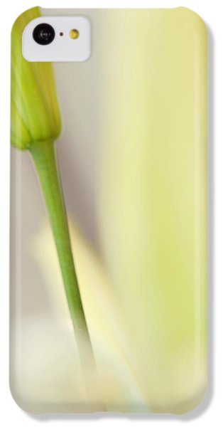 Lily Delight. Floral Abstract IPhone 5c Case by Jenny Rainbow