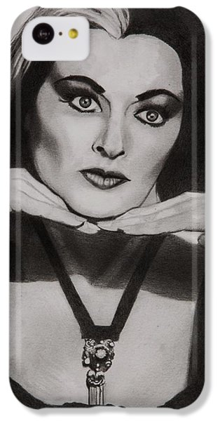 Mockingbird iPhone 5c Case - Lily Munster by Brian Broadway