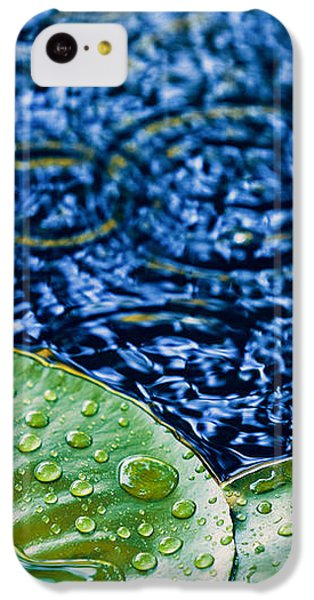 Lily Pads IPhone 5c Case by Debi Bishop