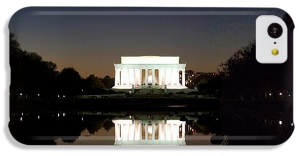 Lincoln Memorial iPhone 5c Case - Lincoln Memorial by Mike Baltzgar