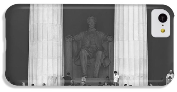 Lincoln Memorial iPhone 5c Case - Lincoln Memorial - Washington Dc by Mike McGlothlen