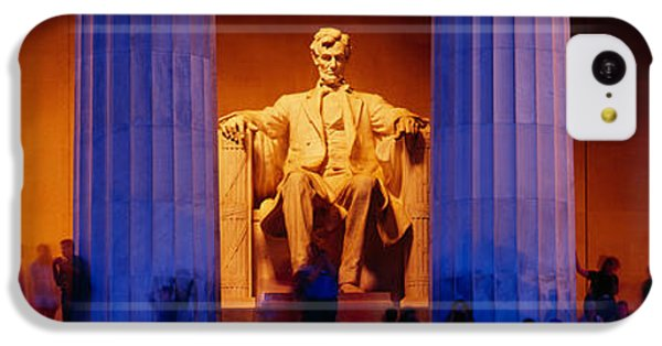 Lincoln Memorial, Washington Dc IPhone 5c Case by Panoramic Images