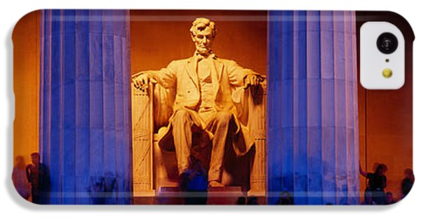 Lincoln Memorial iPhone 5c Case - Lincoln Memorial, Washington Dc by Panoramic Images