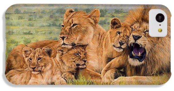 Lion Family IPhone 5c Case