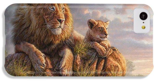 Lion iPhone 5c Case - Lion Pride by Phil Jaeger