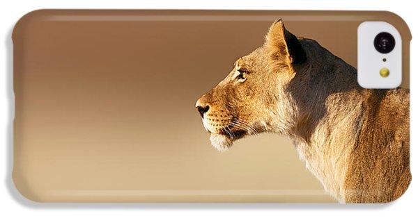 Lioness Portrait IPhone 5c Case