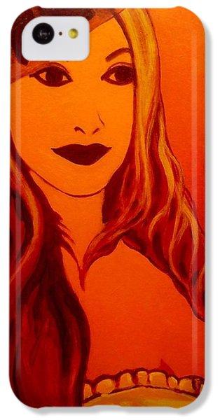 Lisa Darling II - The Irish Burlesque School IPhone 5c Case by John  Nolan