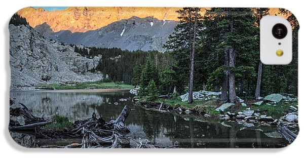 Little Bear Peak And Lake Como IPhone 5c Case by Aaron Spong