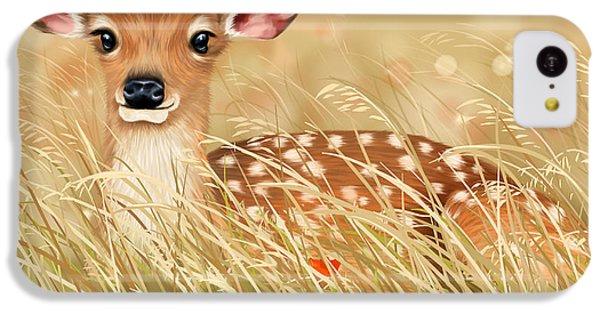 Deer iPhone 5c Case - Little Fawn by Veronica Minozzi