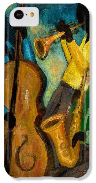 Trumpet iPhone 5c Case - Little Jazz Trio IIi by Larry Martin