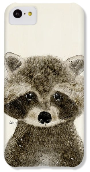 Little Raccoon IPhone 5c Case by Bri B